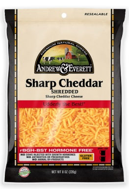 SHARP CHEDDAR CHEESE SHREDDED