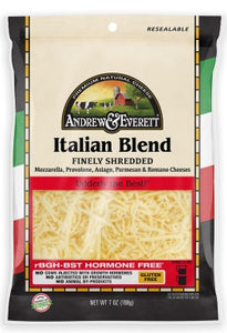 ITALIAN BLEND CHEESE SHREDDED