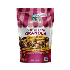 CRANBERRY ALMOND MAPLE GRANOLA (GLUTEN FREE)