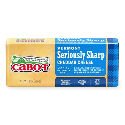 VERMONT SHARP YELLOW CHEDDAR CHEESE