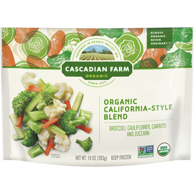 FROZEN CALIFORNIA STYLE BLEND VEGETABLES