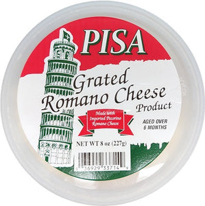 PECORINO ROMANO CHEESE GRATED