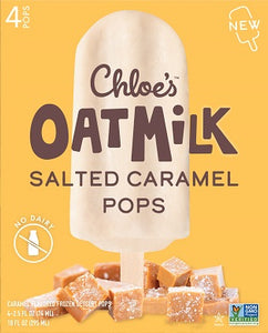 SALTED CARAMEL OATMILK POPS