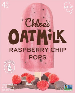 RASPBERRY OATMILK POPS