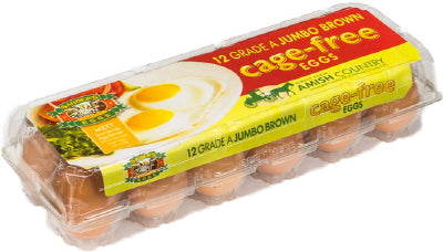 CAGE FREE JUMBO BROWN EGGS