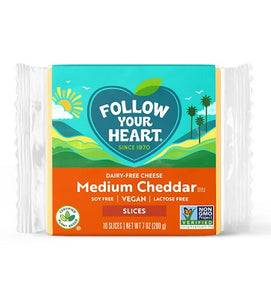 MEDIUM CHEDDAR CHEESE SLICED