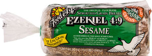 SPROUTED WHOLE GRAIN SESAME BREAD