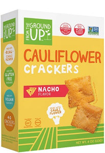 NACHO - CAULIFLOWER CRACKERS
