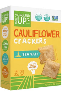 SEA SALT - CAULIFLOWER CRACKERS