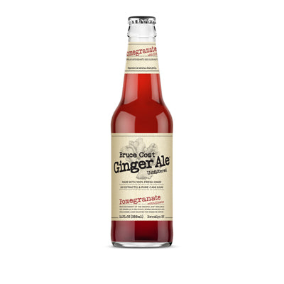 POMEGRANATE HIBISCUS - GINGER ALE