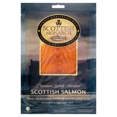 LIGHTLY SMOKED SCOTTISH SALMON