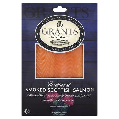 TRADITIONAL SMOKED SCOTTISH SALMON