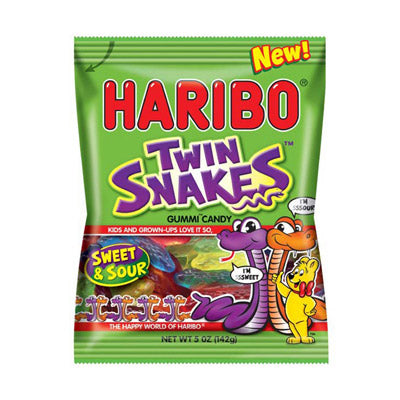 TWIN SNAKES GUMMI CANDY