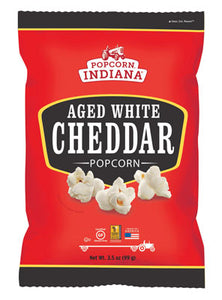 AGED WHITE CHEDDAR CHEESE POPCORN