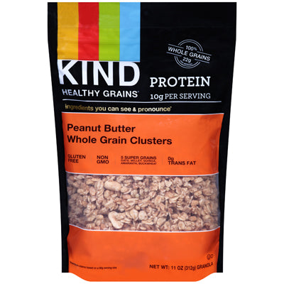 CLUSTERS PEANUT BUTTER WHOLE GRAIN