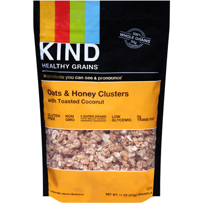CLUSTERS OATS & HONEY W/ TOAST COC