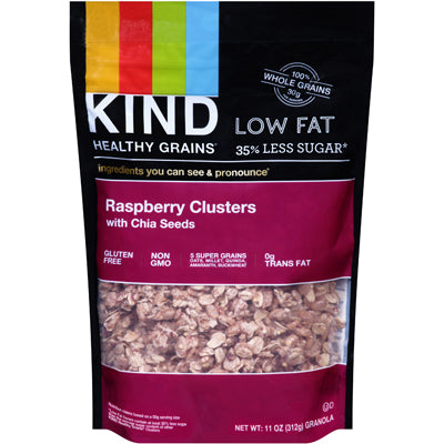 CLUSTER RASPBERRY WITH CHIA SEEDS