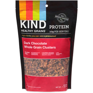 CLUSTERS DARK CHOCOLATE WHOLE GRAIN