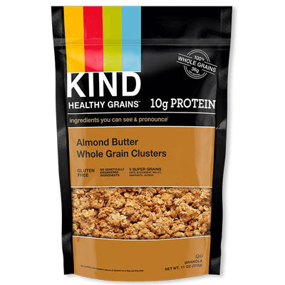 CLUSTERS ALMOND BUTTER WHOLE GRAIN