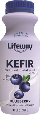 BLUEBERRY KEFIR (LOW FAT) 8OZ