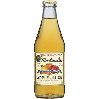 SPARKLING APPLE JUICE 10OZ
