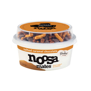 SALTED CARAMEL CHOCOLATE MATES YOGURT