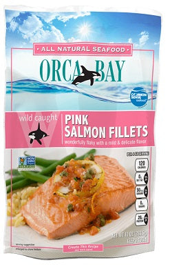 ORCABAY SALMON PINK PORTION