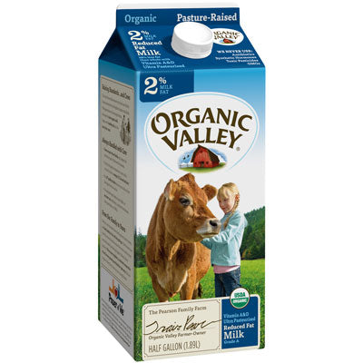MILK (2% REDUCED FAT) 1/2 GAL