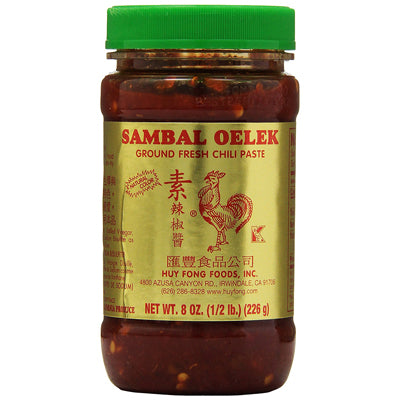 SAMBAL CHILI PASTE 8OZ