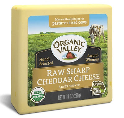 RAW SHARP CHEDDAR CHEESE