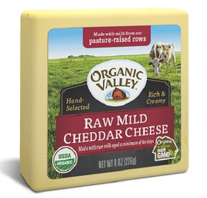 RAW MILD CHEDDAR CHEESE