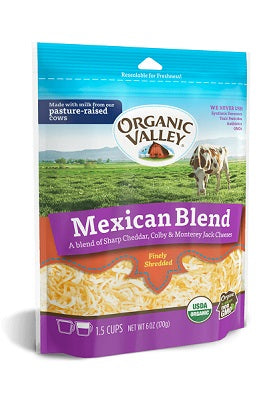 MEXICAN BLEND CHEESE SHREDDED