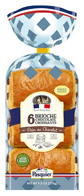 BRIOCHE CHOCOLATE CROSSANT