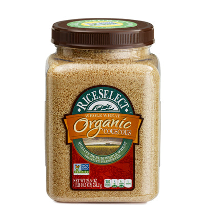 ORGANIC WHOLE WHEAT COUSCOUS