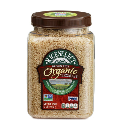 ORGANIC TEXMATI BROWN RICE