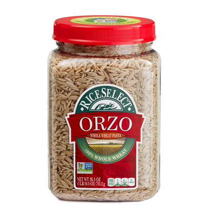 WHOLE WHEAT ORZO PASTA