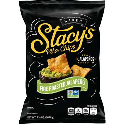 ROASTED JALAPENO PITA CHIPS