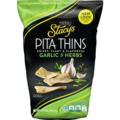 GARLIC & HERBS THIN PITA CHIPS