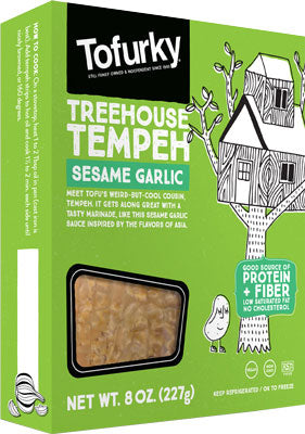 SESAME GARLIC TEMPEH STRIPS