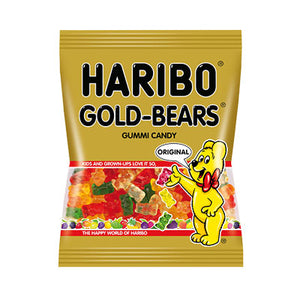 GOLD - BEARS GUMMI CANDY