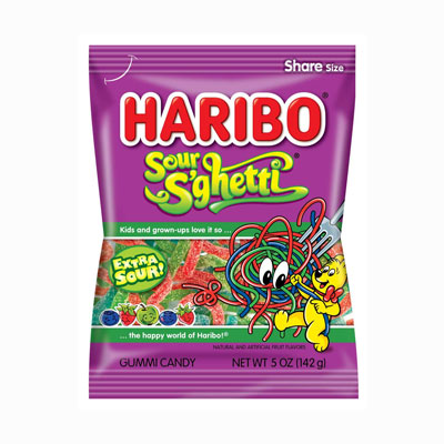 SOUR S'GHETTI GUMMI CANDY