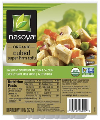 SUPER FIRM TOFU CUBED