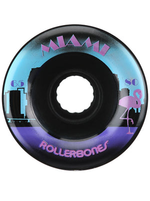 RollerBones Miami 80a 65mm roller skate wheels