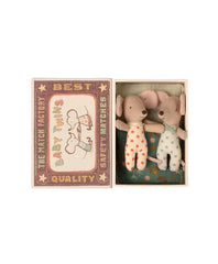 Twins, Baby Mice in Matchbox (new)