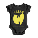 girls, boys, t-shirt, wutang, Hip Hop, tees, kids, toddlers, baby, wu, cream, dream