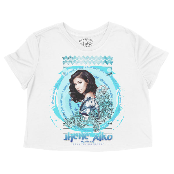 Water Element (Jhene Aiko) - Crop Tee