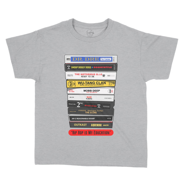 Stack Of Tapes - Youth Tee