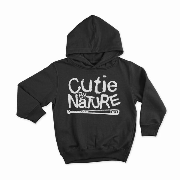 Cutie By Nature - Kids Pull Over Hoodie