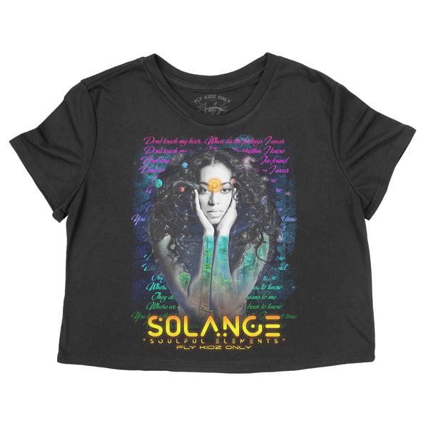 Space Element (Solange) - Crop Tee
