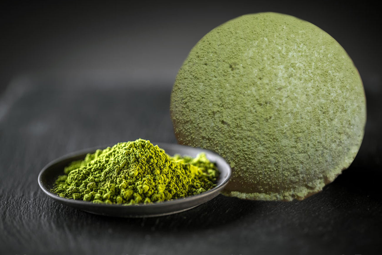 Matcha Green Tea with Kaolin Clay Bath Bomb